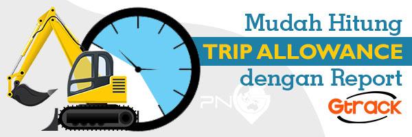 Gosmart | GPS Tracker | Mudah Hitung Trip Allowance dengan Report Gtrack