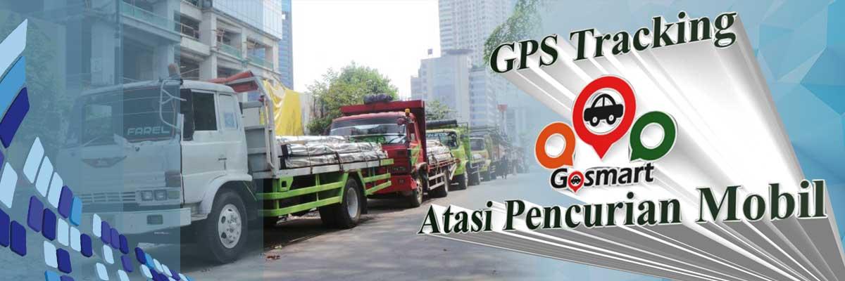 Gosmart | GPS Tracker | GPS Tracking Gosmart Atasi Pencurian Mobil
